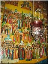 Икона Крымских святых в Храме Всех Крымских Святых в Алуште